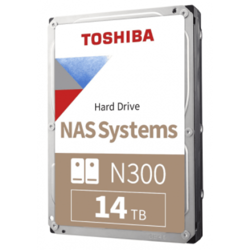 DD INTERNO TOSHIBA N300 3.5 14TB HDWG21EXZSTA