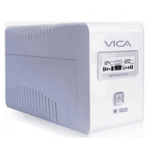 NOBREAK VICA 900VA/550W 6 TOMAS CON REGULADOR PANTALLA LCD Y SOFTWARE