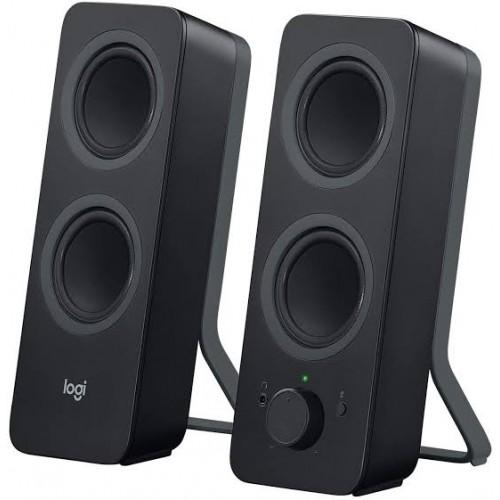 BOCINAS LOGITECH Z207 NEGRO 2.0 BLUETOOTH Y CONEXION 3.5 PC/MAC/MP3