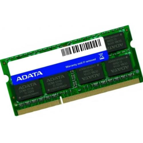 MEMORIA ADATA SODIMM DDR3L 8GB PC3L-12800 1600MHZ CL11 204PIN 1.35V LAPTOP/AIO/MINI PCS