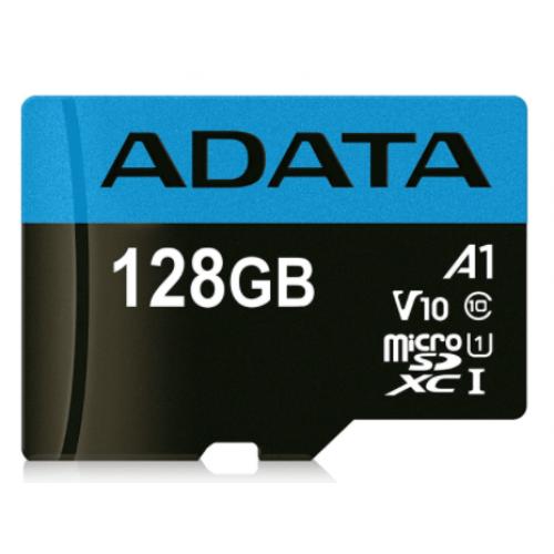 MEMORIA ADATA MICRO SDXC/SDHC UHS-I 128GB CLASE 10 A1 100MB/25MB SEG C/ADAPTADOR