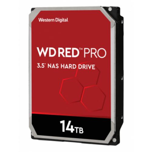DD INTERNO WD RED PRO 3.5 14TB SATA3 6GB/S 512MB 7200RPM 24X7 HOTPLUG P/NAS 1-16 BAHIAS