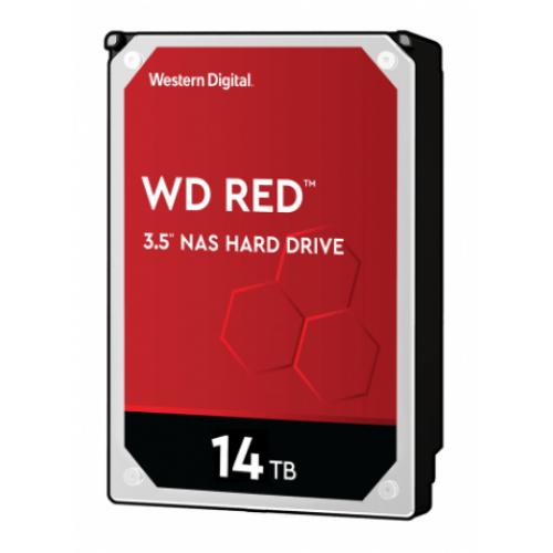 DD INTERNO WD RED 3.5 14TB SATA3 6GB/S 512MB 24X7 HOTPLUG P/NAS 1-8 BAHIAS