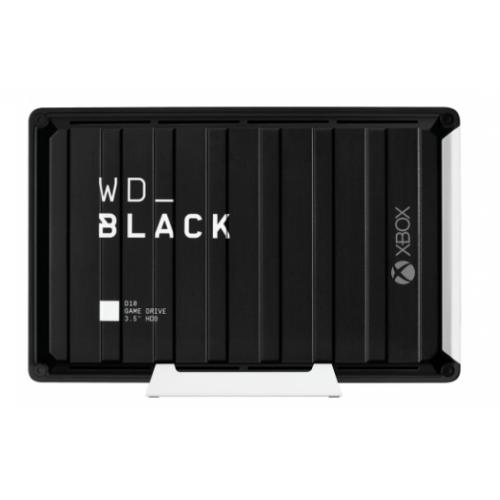 DD EXTERNO PORTATIL 12TB WD BLACK D10 GAME DRIVE XBOX ONE NEGRO USB 3.2 GEN1