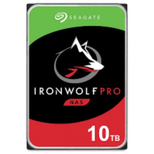 DD INTERNO SEAGATE IRONWOLF PRO 3.5 10TB SATA3 6GB/S 7200RPM 256MB 24X7 HOT-PLUG P/NAS 1-24 BAHIAS