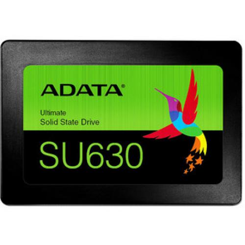UNIDAD DE ESTADO SOLIDO SSD ADATA SU630 1.92TB 2.5 SATA3 7MM LECT.520/ESCR.450MBS SIN BRACKET PC LAPTOP