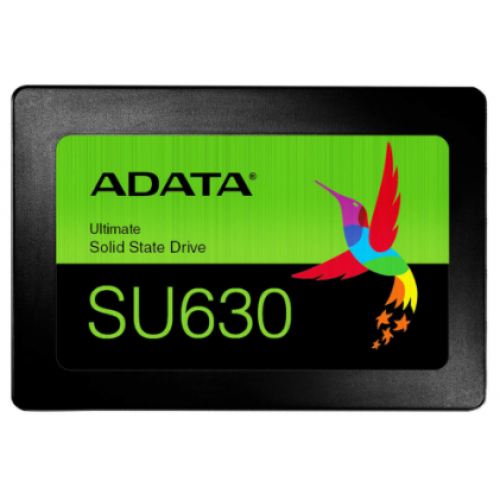 UNIDAD DE ESTADO SOLIDO SSD ADATA SU630 3.84TB 2.5 SATA3 7MM LECT.520/ESCR.450MBS SIN BRACKET PC LAPTOP