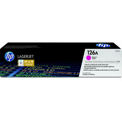 TONER HP MAGENTA 126A P/CP1025- 2 000 PAGINAS