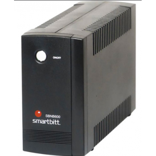 NO BREAK SMARTBITT NO-BREAK 600VA/300 WATTS 4 CONTACTOS