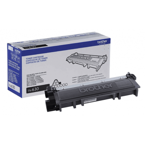 TONER BROTHER TN630 NEGRO RENDIMIENTO ESTADAR DE 1200 PAGINAS PARA HLL/DCPL/MFCL