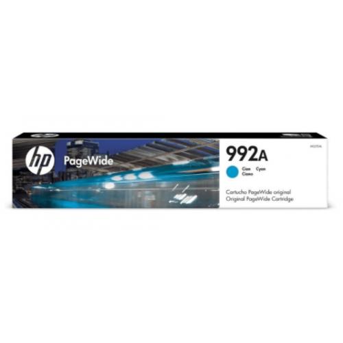 CARTUCHO DE TINTA HP PAGE WIDE 992A CIAN HASTA 8000 PAGINAS M0J75AL