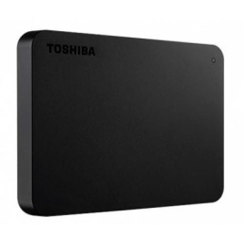 DD EXTERNO 1TB TOSHIBA CANVIO BASIC 2.5//USB 3.0//NEGRO//VELOCIDAD DE TRANSFERENCIA 5GB/S//WIN 10