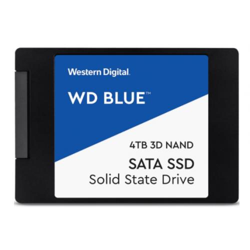 UNIDAD DE ESTADO SOLIDO SSD WD BLUE 2.5 4TB SATA 3DNAND 6GB/S 7MM LECT 560MB/S ESCRIT 530MB/S