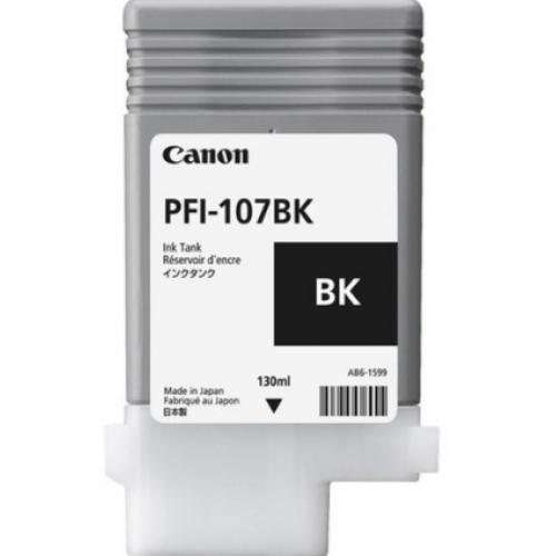 TANQUE DE TINTA CANON NEGRO PFI-107BK – 130ML DYE COMPATIBLE CON 670/680/685/770/780/785