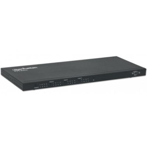 VIDEO SPLITTER HDMI MANHATTAN 1080P 4 IN : 4 OUT (MATRIZ)