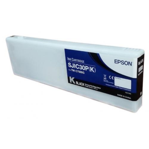 CARTUCHO EPSON MODELO SJIC30P NEGRO PARA TM-C7500G
