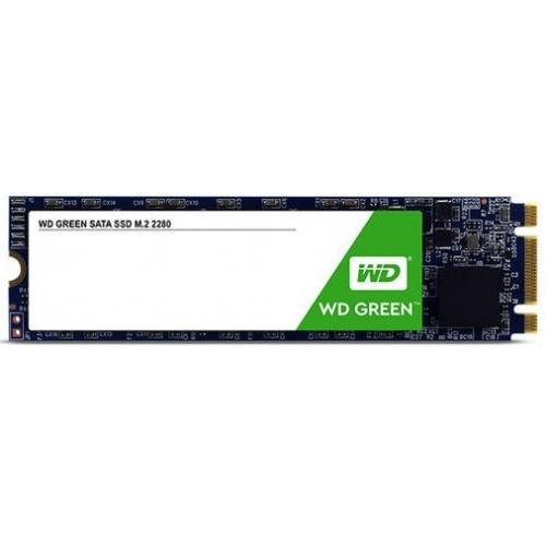 UNIDAD DE ESTADO SOLIDO SSD WD GREEN M.2 120GB SATA3 6GB/S LECT 540MB/S ESCRIT 430MB/S