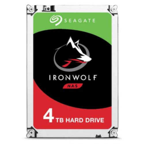 DD INTERNO SEAGATE IRONWOLF 3.5 4TB SATA3 6GB/S 5900RPM 64MB 24X7 HOT-PLUG P/NAS 1-8 BAHIAS