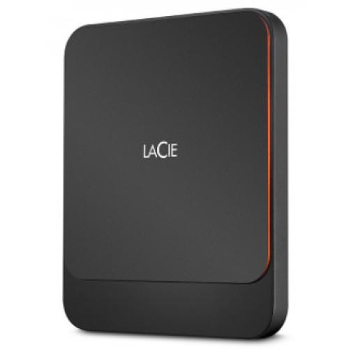 UNIDAD DE ESTADO SOLIDO EXTERNO LACIE PORTABLE SSD 2TB USB 3.1 TIPO-C NEGRO WINDOWS/MAC