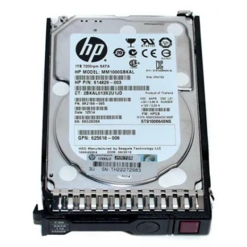 DISCO DURO HP 1 TB 6G 7.2K SATA 2.5 SFF HOT PLUG