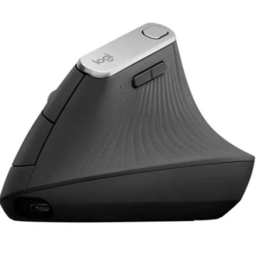 MOUSE LOGITECH MX VERTICAL GRIS OPTICO CONEXION DUAL MINI USB UNIFYING Y BLUTOOTH PARA PC/ WIINDOWS 10 O POSTERIOR MAC OS X 10.13.6 O POSTERIOR