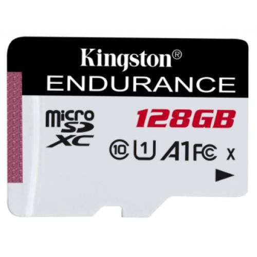 MEMORIA KINGSTON MICRO SD HIGH ENDURENCE 128GB UHS-I CLASE 10 P/ VIDEOVIGILANCIA