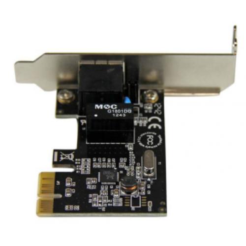 TARJETA DE RED PCI EXPRESS DE 1 PUERTO GIGABIT ETHERNET -ADAPTADOR NIC PCI-E – 1X RJ45 HEMBRA – PERFIL BAJO – STARTECH.COM MOD. ST1000SPEX2L