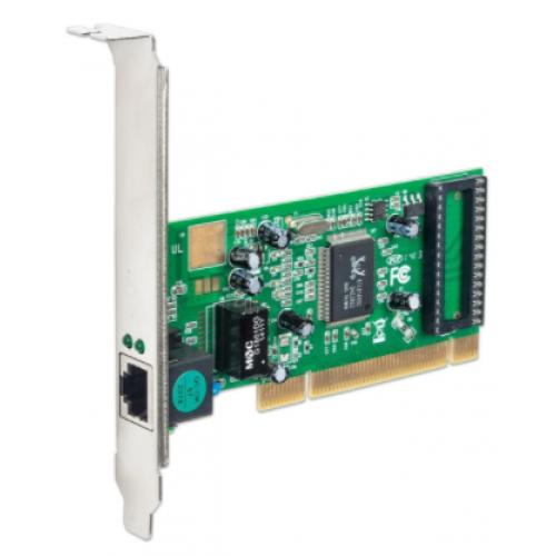 TARJETA DE RED INTELLINET PCI GIGABIT 10/100/1000 32BIT