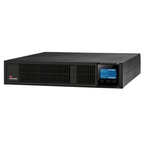 NO BREAK SMARTBITT 3KVA/ 2700 WATTS ONLINE RACK/TORRE ENTRADA 100 / 110 / 115 / 120 / 127 VAC CONFIGURABLE SLOT SALIDA 100 / 110 / 115 / 120 / 127 VAC CONFIGURABLE VIA LCD SNMP SOFTWARE