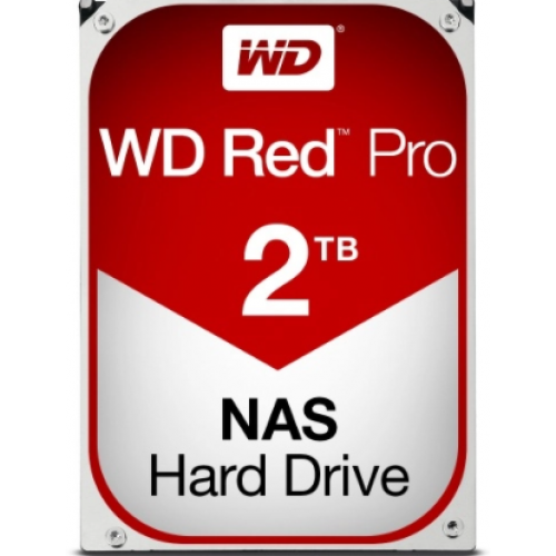 DD INTERNO WD RED PRO 3.5 2TB SATA3 6GB/S 64MB 7200RPM 24X7 HOT PLUG P/NAS 1-16 BAHIAS