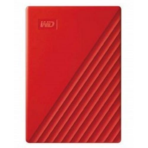 DD EXTERNO PORTATIL 2TB WD MY PASSPORT ROJO 2.5/USB3.0/COPIA LOCAL/ENCRIPTACION/WIN