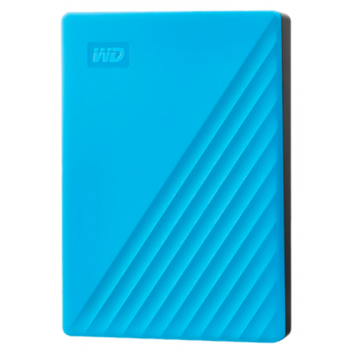 DD EXTERNO PORTATIL 4TB WD MY PASSPORT AZUL 2.5/USB3.0/COPIA LOCAL/ENCRIPTACION/WIN