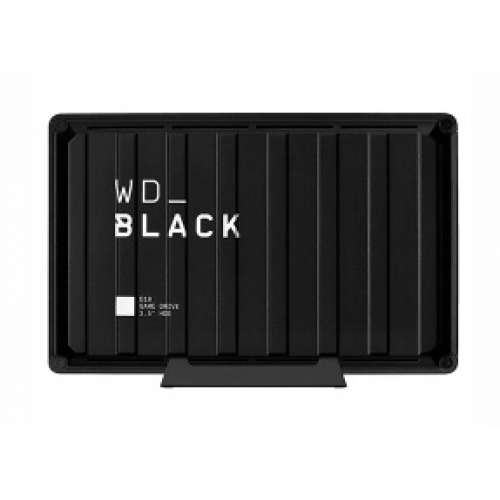 DD EXTERNO PORTATIL 8TB WD BLACK D10 GAME DRIVE NEGRO USB 3.2/PS4 /PS4 PRO/XBOX ONE/WIN/MAC