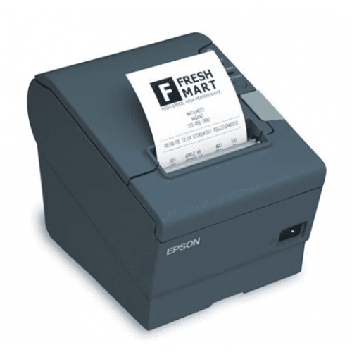 MINIPRINTER EPSON TM-T88V-834, TERMICA, 80 MM O 58 MM, PARALELO, USB, AUTOCORTADOR, RECIBO, NEGRA