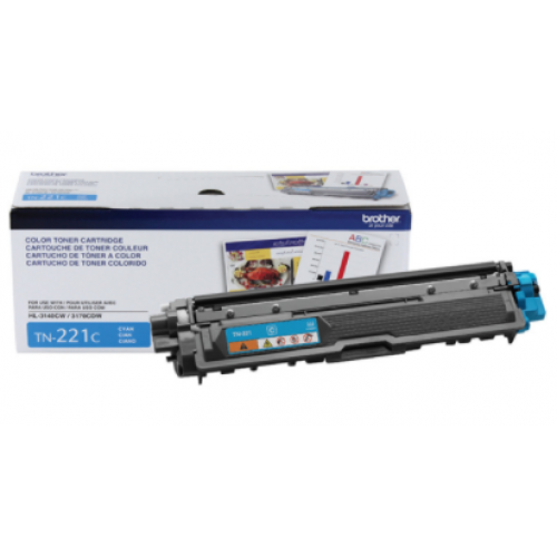 TONER BROTHER CYAN TN221C / 1400 PAGINAS