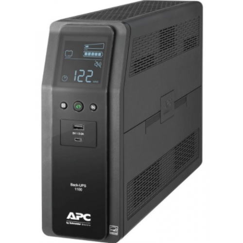 UNIDAD BACK UPS PRO BR 1100 VA 10 TOMAS DE SALIDA 2 PUERTOS USB DE CARGA AVR INTERFAZ LCD LAM// SUSTITUYE AL BACK UPS BR1000G