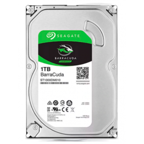 DD INTERNO SEAGATE BARRACUDA 3.5 1TB SATA3 6GB/S 7200RPM 64MB PC