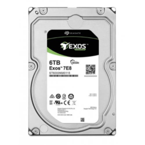 DD INTERNO SEAGATE EXOS 7E8 3.5 6TB SATA3 6GB/S 256MB 7200RPM 24X7 HOTPLUG P/NAS/NVR/SERVER/DATACENTER