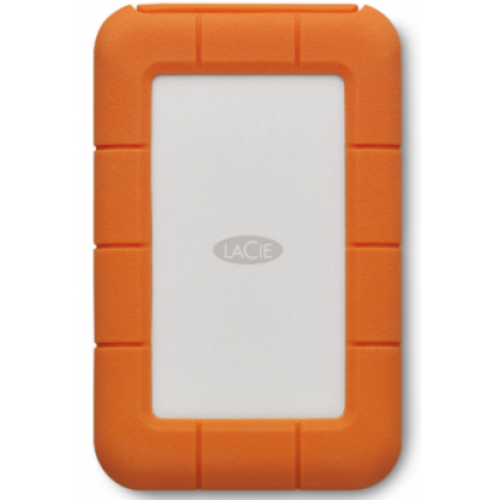 DD EXTERNO LACIE RUGGED THUNDERBOLT USB-C 4TB 2.5 USB 3.1 CONTRAGOLPES Y AGUA IP54 NARANJA/BLANCO WINDOWS/MAC