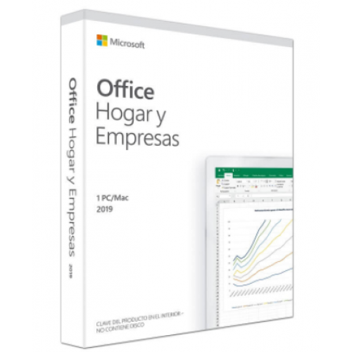 Microsoft Office Home & Business 2019 (FPP) Spanish LATAM