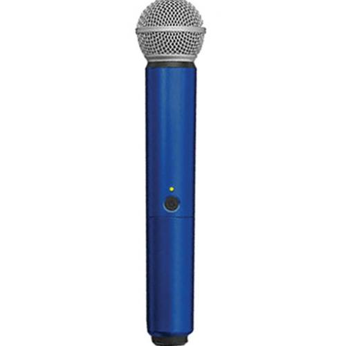 Manga decorativa en color azul para el transmisor de mano BLX con SM58 ¢ BETA58