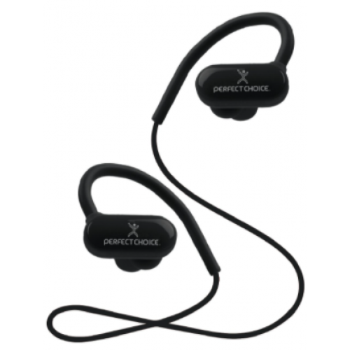 AURICULARES PERFECT CHOICE EFFORT INALµMBRICO BLUETOOTH MICRàFONO NEGRO PC-116738