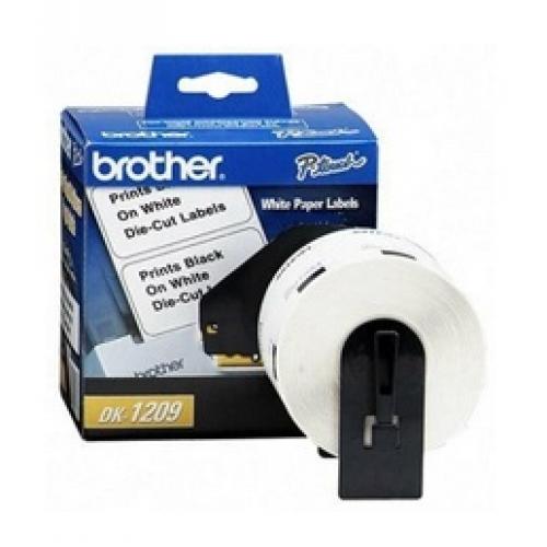 BROTHER ETIQUETA DE DIRECCIàN PRE-CORTADA DK1209, 28.9 X 62MM, 800 ETIQUETAS