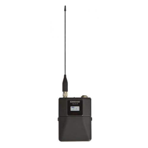 Transmisor digital tipo Bodypack, sincron¡a infrarroja con receptor, entrada TQG, 9 horas con 2 x AA